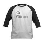 good books Kids Baseball Jersey