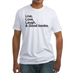 good books Fitted T-Shirt
