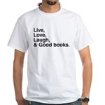 good books White T-Shirt