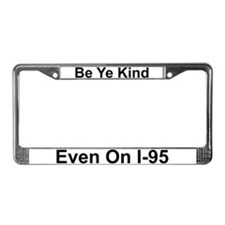 Cute New york frames License Plate Frame