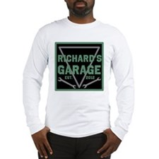 Personalized Garage Long Sleeve T-Shirt