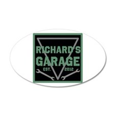 Personalized Garage Wall Decal
