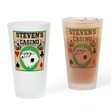 Personalized Casino Drinking Glass