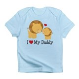 I Heart My Daddy Infant T-Shirt