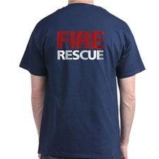 firerescue_text_dark_red.png T-Shirt