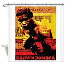 Joe Louis - Brown Bomber Shower Curtain
