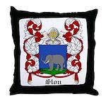 Slon Coat of Arms Throw Pillow
