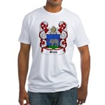 Slon Coat of Arms Fitted T-Shirt