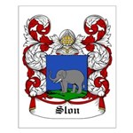 Slon Coat of Arms Small Poster