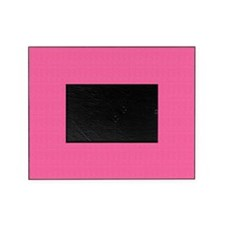 Eclectic Pink Satin Look Picture Frame
