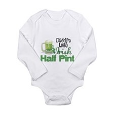Cool Irish heritage Long Sleeve Infant Bodysuit