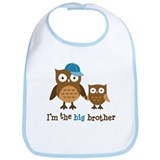 Big Brother - Mod Owl Bib