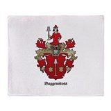 Baggenstoss Shield - Classic Throw Blanket