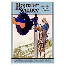 Popular Science Cover, November 1928