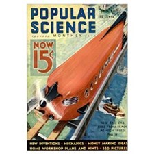 Popular Science Cover, May 1933