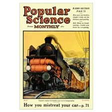 Popular Science Cover, May 1925