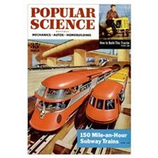 Popular Science Cover, March 1954