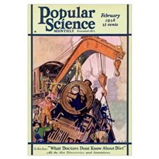 Popular Science Cover, March 1928