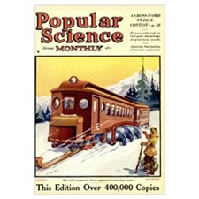 Popular Science Cover, March 1925