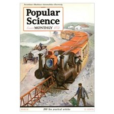 Popular Science Cover, March 1921
