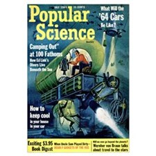 Popular Science Cover, July 1963