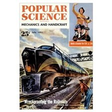 Popular Science Cover, July 1951
