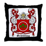 Schilling Coat of Arms Throw Pillow