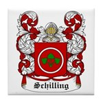 Schilling Coat of Arms Tile Coaster