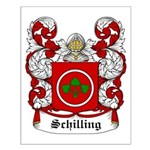 Schilling Coat of Arms Small Poster