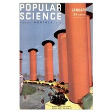 Popular Science Cover, January 1932
