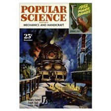 Popular Science Cover, December 1951