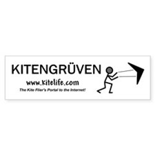Kitengruven<br>Bumper Car Sticker
