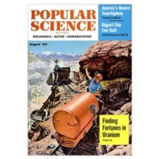 Popular Science Cover, August 1954