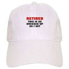 Retired Dressed Up Cap
