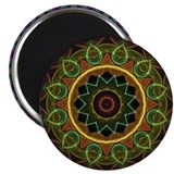 "Mandala Eggs and Leaves 2.25"" Magnet (100 pack)"