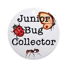 Jr Bug Collector Ornament (Round)