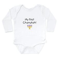 Cute Baby hanukkah Long Sleeve Infant Bodysuit