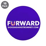 10-Pack Official DAR &amp;quot;FURWARD&amp;quot; buttons