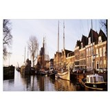 Port Town Hoorn Holland Netherlands