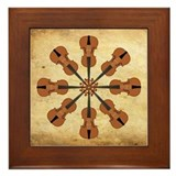 Circle of Violins Framed Tile