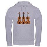 Three Violins Jumper Hoody