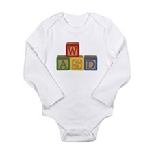 Cute Fps Long Sleeve Infant Bodysuit