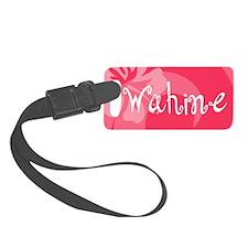 Wahine Luggage Tag