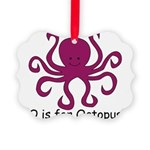 Octopus10.png Picture Ornament