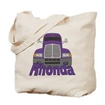 Trucker Rhonda Tote Bag