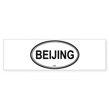 Beijing, China euro Bumper Bumper Sticker