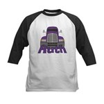 Trucker Ruth Kids Baseball Jersey