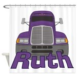 Trucker Ruth Shower Curtain