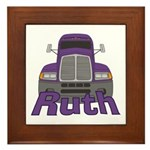 Trucker Ruth Framed Tile