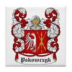 Pskowczyk Coat of Arms Tile Coaster